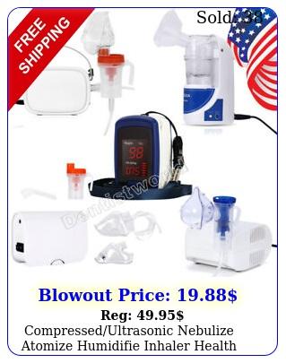compressedultrasonic nebulize atomize humidifie inhaler health care adult bab