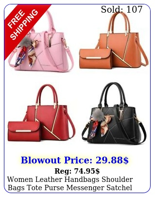 women leather handbags shoulder bags tote purse messenger satchel crossbod