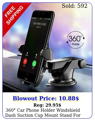 car phone holder windshield dash suction cup mount stand cell phone gp