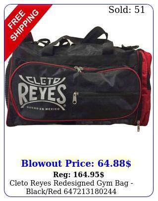 cleto reyes redesigned gym bag blackre