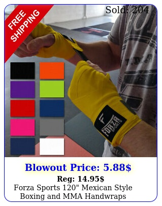 forza sports mexican style boxing mma handwrap