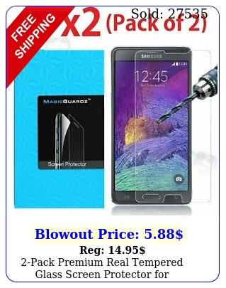 pack premium real tempered glass screen protector samsung galaxy not