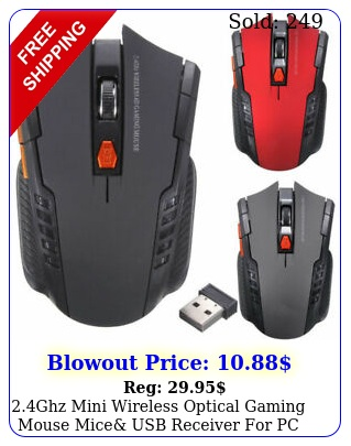 ghz mini wireless optical gaming mouse mice usb receiver pc lapto