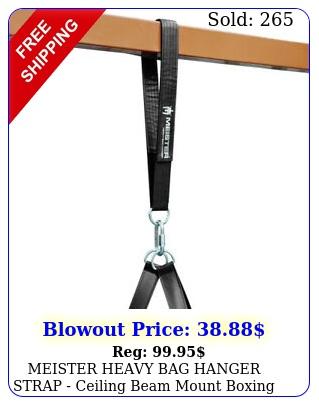 meister heavy bag hanger strap ceiling beam mount boxing mma gym punching ba