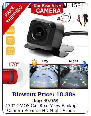 cmos car rear view backup camera reverse hd night vision waterproof cam ki