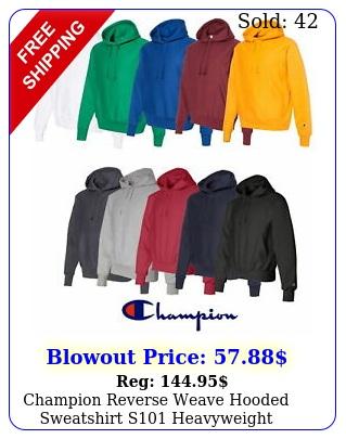 champion reverse weave hooded sweatshirt s heavyweight hoodie pullove