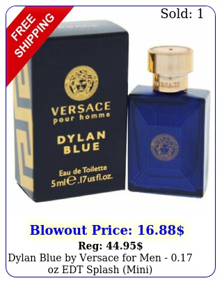 dylan blue by versace men  oz edt splash min