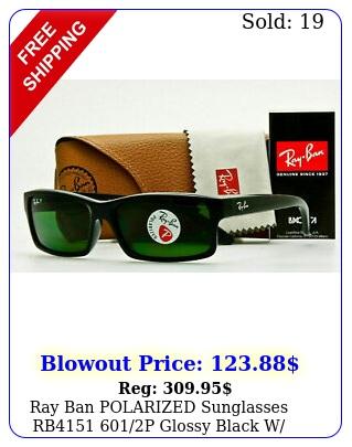 ray ban polarized sunglasses rb p glossy black w classic greygree
