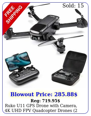 ruko u gps drone with camera k uhd fpv quadcopter drones batteries cas