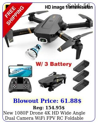 p drone k hd wide angle dual camera wifi fpv rc foldable pro quadcopte