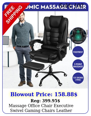 massage office chair executive swivel gaming chairs leather computer desk chai