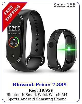 bluetooth smart wrist watch m sports android samsung iphone adults childre