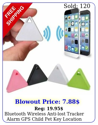 bluetooth wireless antilost tracker alarm gps child pet key location finde