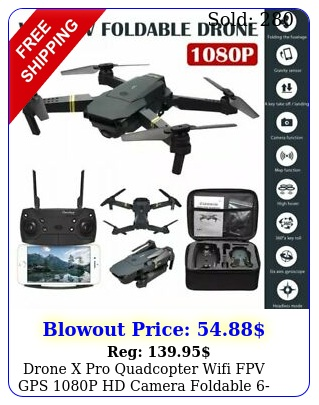 drone x pro quadcopter wifi fpv gps p hd camera foldable axis rc aircraf