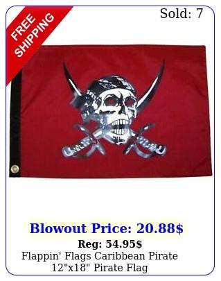 flappin' flags caribbean pirate x pirate fla