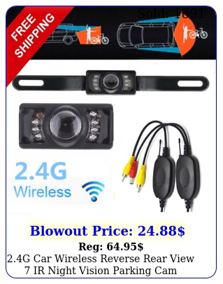 g car wireless reverse rear view ir night vision parking cam backup camer
