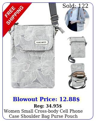 women small crossbody cell phone case shoulder bag purse pouch handbag walle