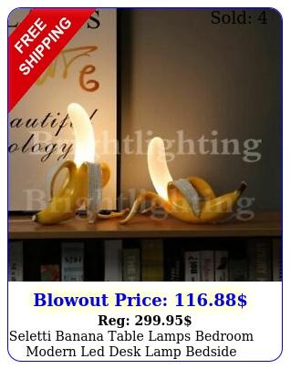 seletti banana table lamps bedroom modern led desk lamp bedside light fixture
