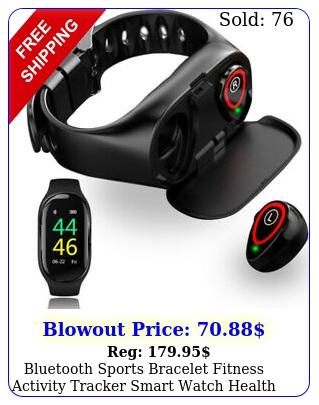 bluetooth sports bracelet fitness activity tracker smart watch health monito