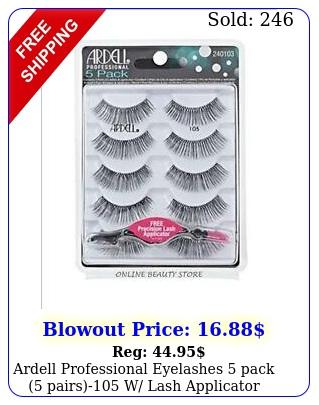 ardell professional eyelashes pack pairs w lash applicato