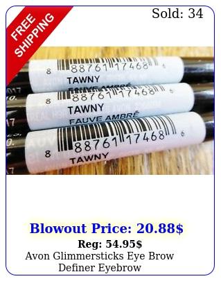 avon glimmersticks eye brow definer eyebrow penciltawnylot of sealedne