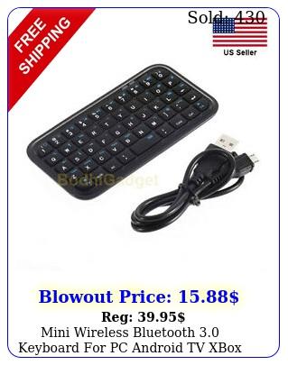 mini wireless bluetooth keyboard pc android tv xbox ps raspberry phon
