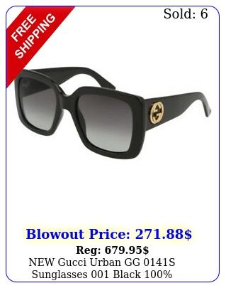 gucci urban gg s sunglasses black authenti