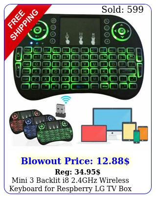mini backlit i ghz wireless keyboard respberry lg tv android p