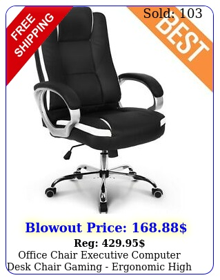 office chair executive computer desk chair gaming ergonomic high back suppor