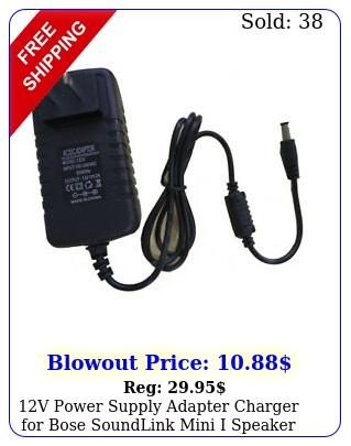 v power supply adapter charger bose soundlink mini i speaker psa