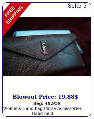 womens hand bag purse accessories hand hel