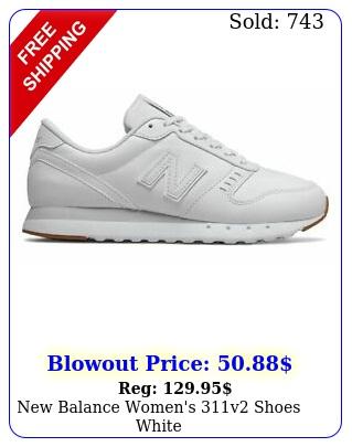 balance women's v shoes whit