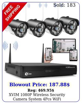 xvim p wireless security camera system pcs wifi surveillance camera cct