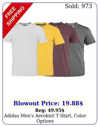 adidas men's aeroknit tshirt color option