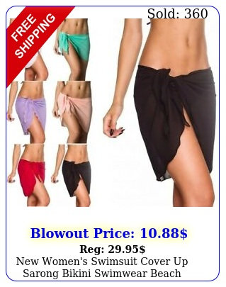 women's swimsuit cover up sarong bikini swimwear beach coverups wrap skir