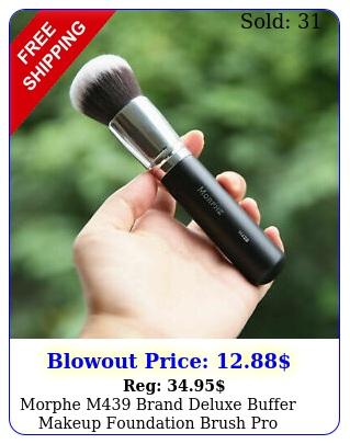 morphe m brand deluxe buffer makeup foundation brush pro powder bronzer brus