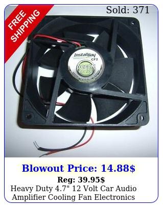 heavy duty  volt car audio amplifier cooling fan electronics amp