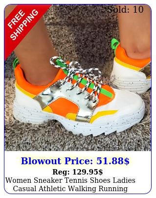 women sneaker tennis shoes ladies casual athletic walking running chunk