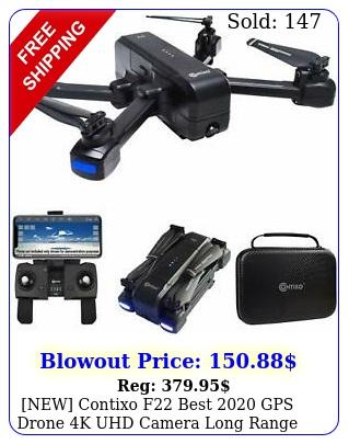 new contixo f best gps drone k uhd camera long range selfie drone cas