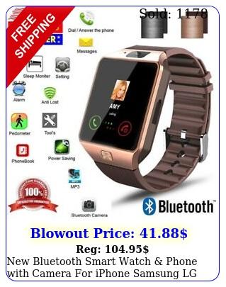 bluetooth smart watch phone with camera iphone samsung lg htc googl