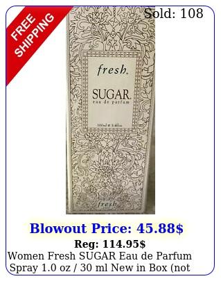 women fresh sugar eau de parfum spray oz  ml in no