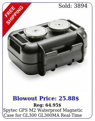 spytec gps m waterproof magnetic case gl glma realtime gps tracker