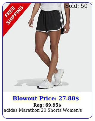 adidas marathon shorts women'