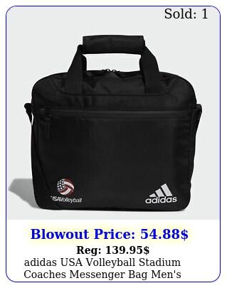 adidas usa volleyball stadium coaches messenger bag men'