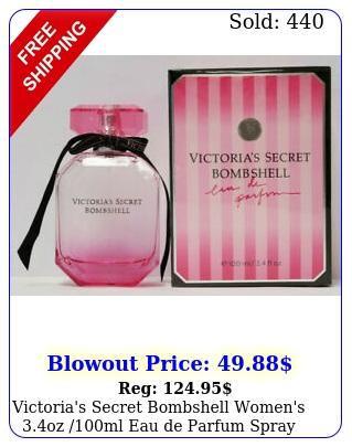 victoria's secret bombshell women's oz ml eau de parfum spray bran