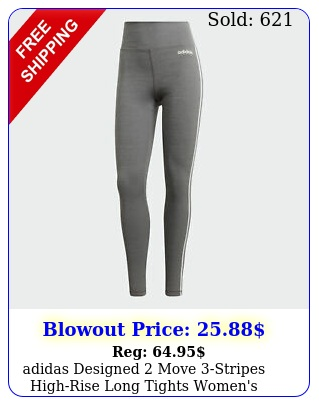 adidas designed move stripes highrise long tights women'