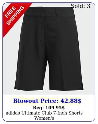adidas ultimate club inch shorts women'