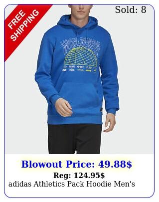adidas athletics pack hoodie men'