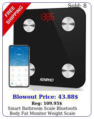 smart bathroom scale bluetooth body fat monitor weight scale digita