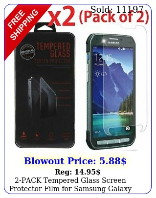 pack tempered glass screen protector film samsung galaxy s activ